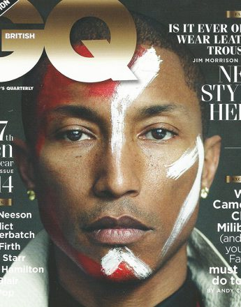 Pharrell Williams for GQ magazine.