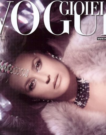 Yasmin Le Bon for Italian Vogue Gioiella. Photography by Ali Mahdavi.